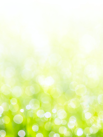 summers optimistic bokeh - abstract background Stock Photo