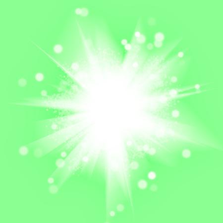 summer's: illustration of abstract summers sun