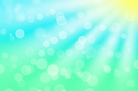 summers optimistic bokeh - abstract background Stock fotó