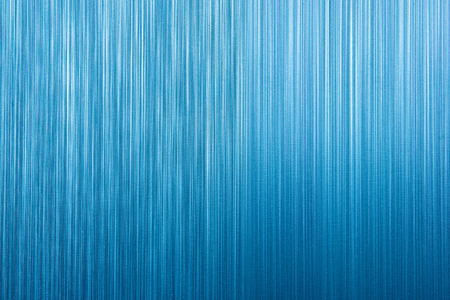 sectioned: Blue stainless steel background.