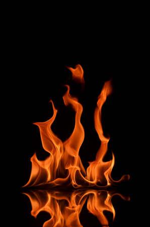 Light of Flame Banco de Imagens - 12443504