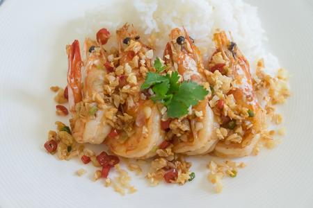 gamba: Comida tailandesa
