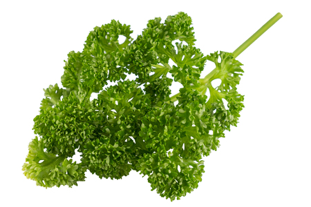 Isolated organic parsley
