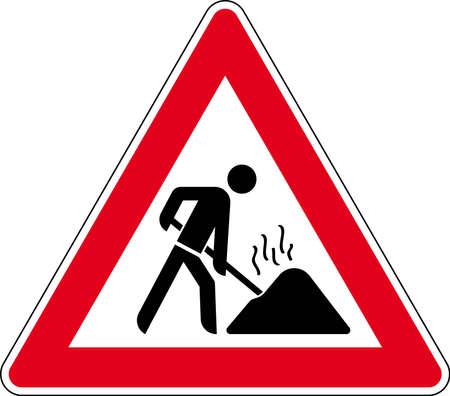 pedestrian sign: cartello stradale