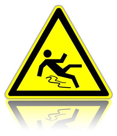 pigiatura: segnale di avvertimento