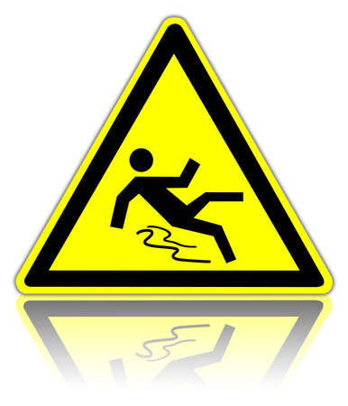 stumble: warning sign