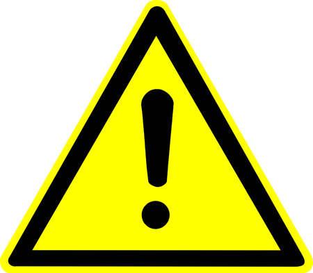 se�ales de seguridad: se�al de advertencia