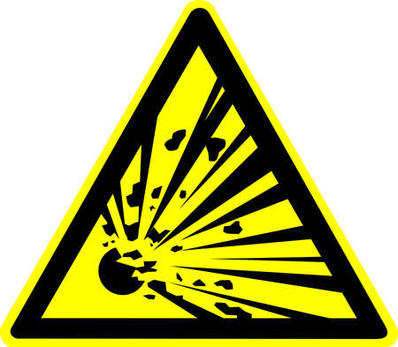 warning sign Stock Photo - 10645714