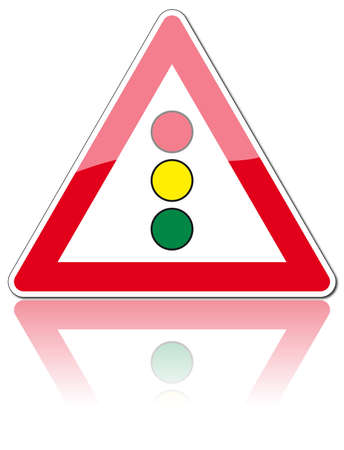 exit emergency sign: traffic signs Illustration