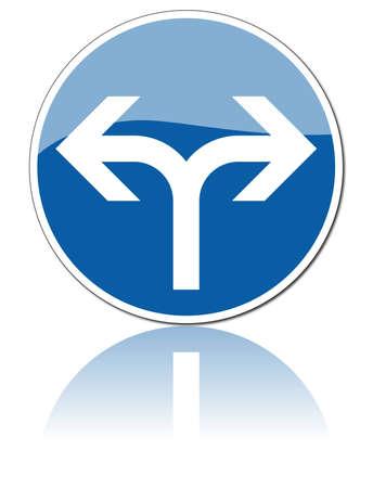 car parking: traffic signs Illustration
