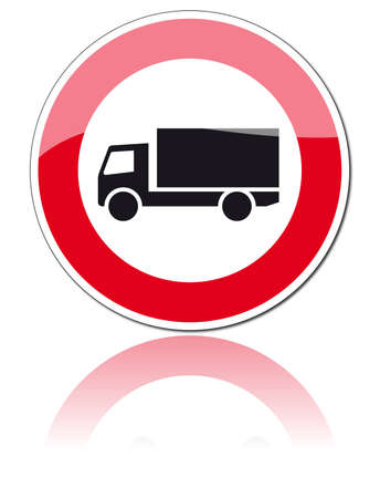 banned: traffic signs Illustration