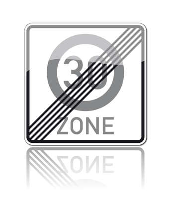 one hundred twenty triangular curve: traffic signs Illustration