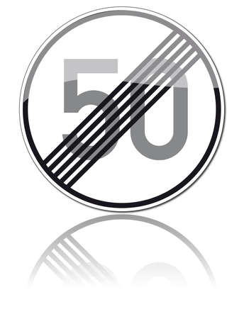 one hundred twenty triangular curve: traffic signs Illustration