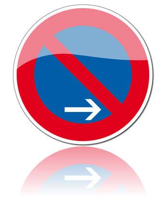 flecha derecha: señales de tráfico