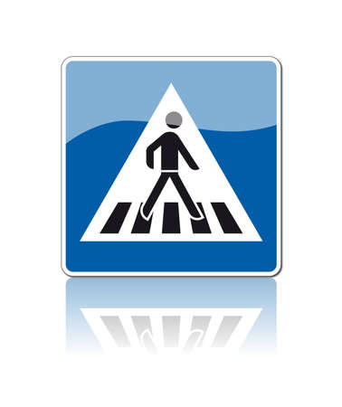 sixty: traffic signs Illustration