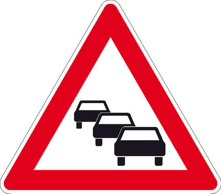 overtaking: traffic signs Illustration