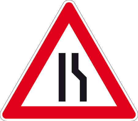 one way sign: traffic signs Illustration