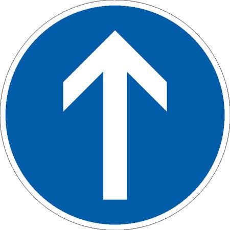 flecha derecha: se�ales de tr�fico
