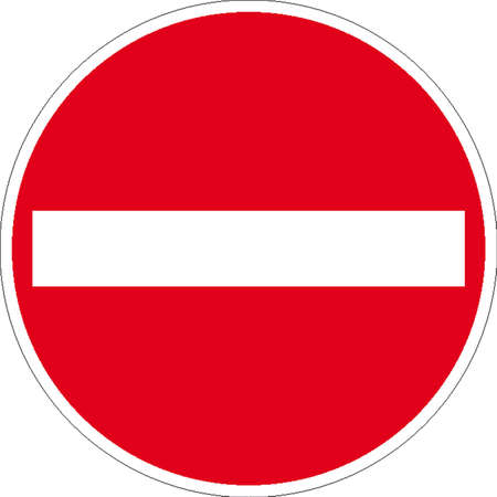 fire extinguisher sign: traffic signs Illustration