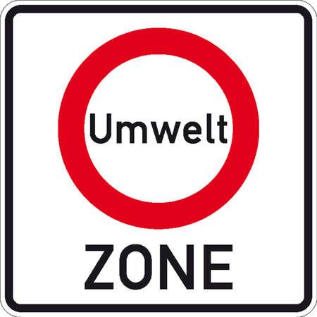 parking disk: traffic signs Illustration