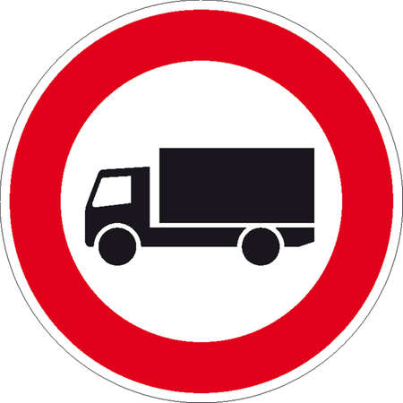 hurl: traffic signs Illustration
