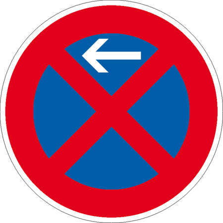 hotel worker: traffic signs Illustration