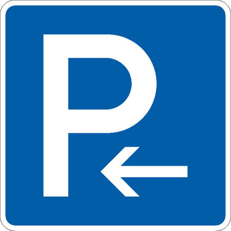 parking sign: traffic signs Illustration