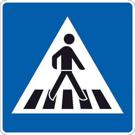자갈: 교통 표지판 일러스트