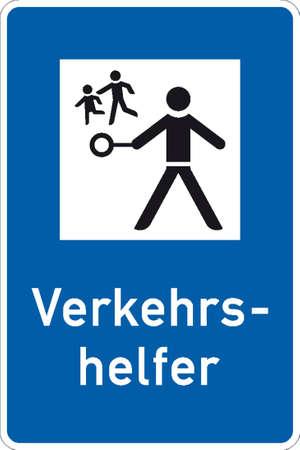 avalanche: traffic signs Illustration