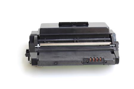 Toner cartridge on white background.(Compatible)