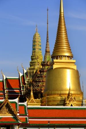 pra: wat pra keaw temple of thailand  Stock Photo
