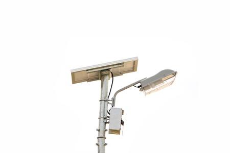 photoelectric: Solar cell lamp