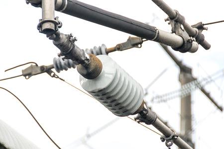 insulator: Electrical Insulator Stock Photo