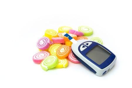 糖尿病デザート 写真素材