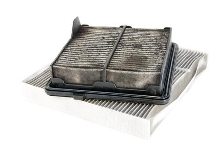 air: dirty air filter