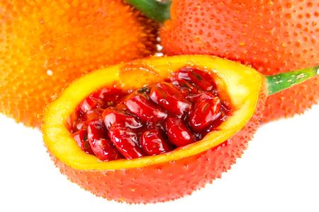 Southeast Asian fruit Baby Jackfruit ,white background
