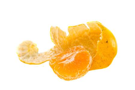 Peeled orange slice