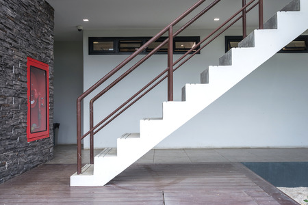 stairs outside building