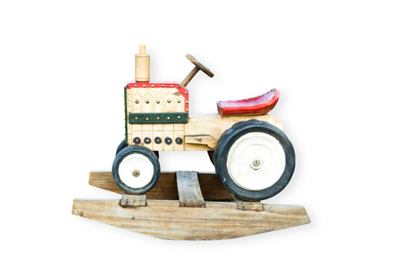 Wood Rocking Chair Wooden Rocking Tractor