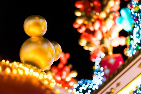 Hong Kong - 25 December 2013 - Disney christmas decoration at Ocean Terminal, Tsim Sha Tsui, Hong Kong