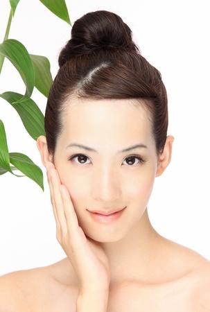 젊은 아시아 여성의 근접 초상화 스톡 콘텐츠 - 11547046