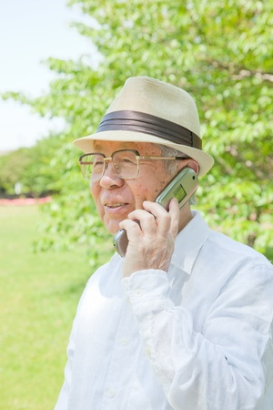 elder tree: Call the elderly in Asia