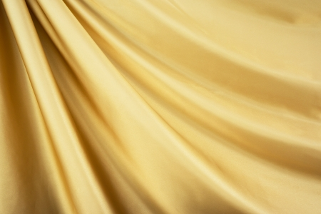 Smooth elegant gold silk can use as background