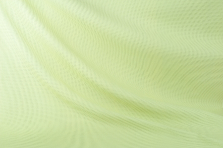 cloth back: Smooth elegant green cloth can use as background