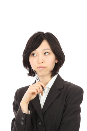 Japanese women think of businessman photo