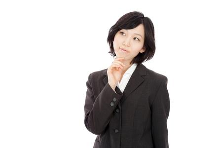 日本の女性実業家のだと思う 写真素材