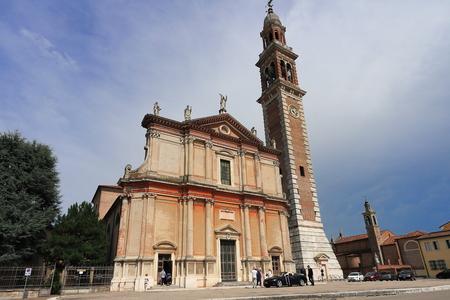 The Church of Santa Sofia, Duomo di Lendinara is a Roman Catholic church in the city, in the Province of Rovigo, region of Veneto.