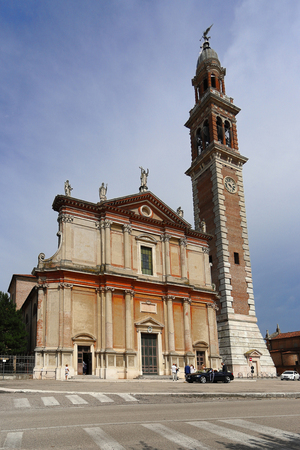 The Church of Santa Sofia, Duomo di Lendinara is a Roman Catholic church in the city, in the Province of Rovigo, region of Veneto.