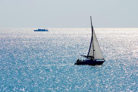 Black Sea in Crimea.