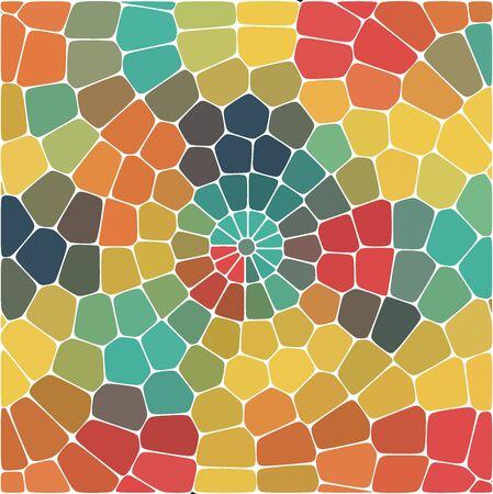 Fondo astratto di vettore dei poligoni colorati.